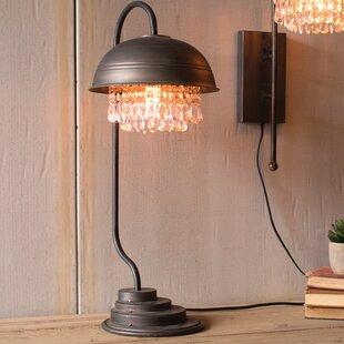Hope Metal Dome 26.37 Desk Lamp