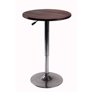 Height Adjustable Pub Table with Stand by..