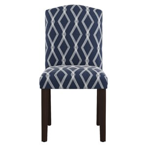 Newberry Arched Crossweave Side Chair by Varick Gallery