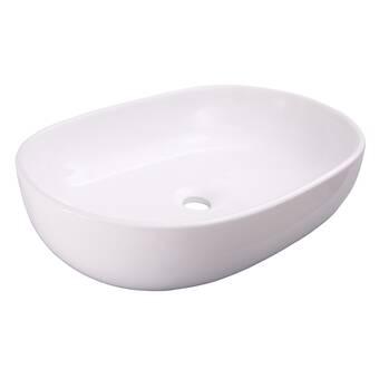 Barclay Joni Vitreous China Oval Vessel Bathroom Sink Wayfair