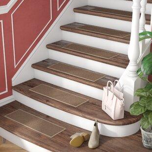 Brannan Dark Beige Stair Tread (Set Of 7)