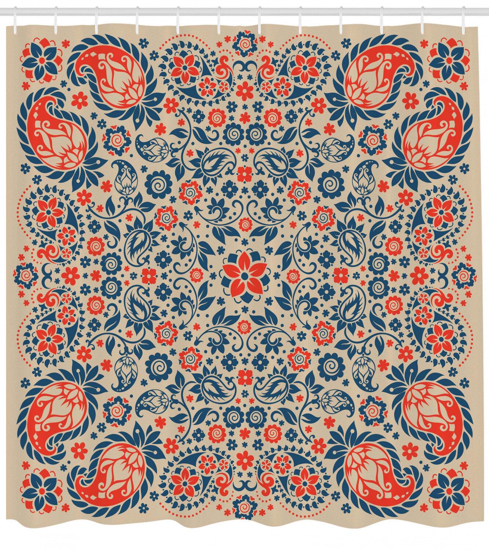 Bungalow Rose Darcey Cultural Folk Persian Shower Curtain