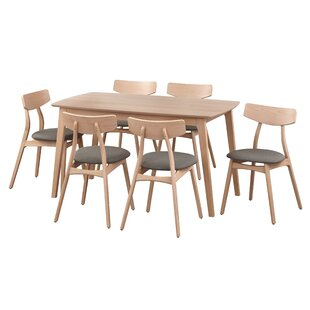 Grow 7 Piece Dining Set George Oliver
