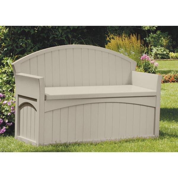 Suncast 50 Gallon Resin Storage Bench U0026 Reviews | Wayfair