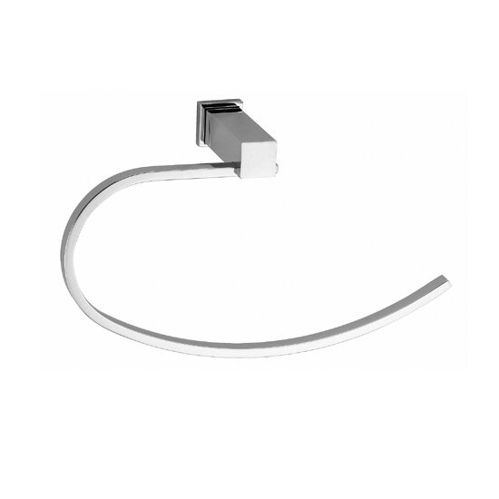 Metal Towel Ring Holder Hanger Chrome Wall Mounted Harney