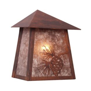 Coupon Mission 1-Light Outdoor Flush Mount By Steel Partners
