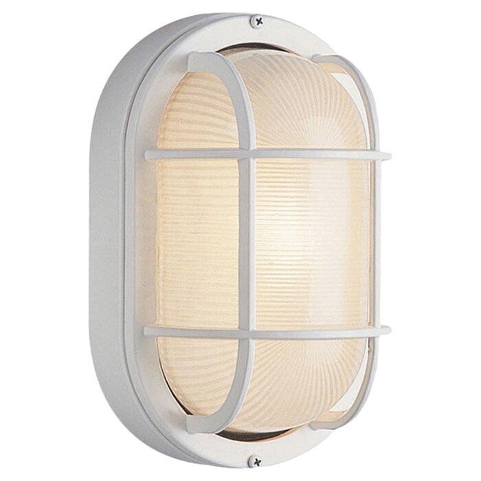 Lia 1 light outdoor bulkhead light reviews allmodern lia 1 light outdoor bulkhead light mozeypictures Choice Image