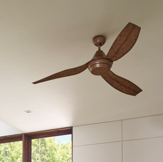 Monte Carlo Fan Company 56 3 Blade Led Propeller Ceiling Fan With Remote Control And Light Kit Included Reviews Wayfair