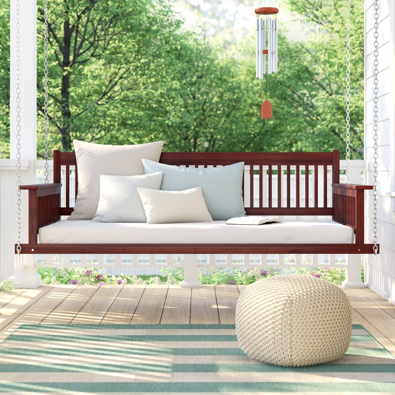 Rosecliff Heights Marisela Day Bed Porch Swing