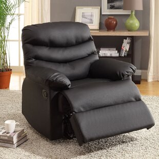 Baley Upholstered Manual Rocker Recliner