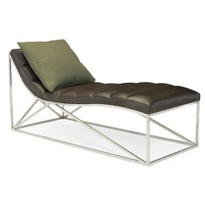 Metro Leather Chaise Lounge  sc 1 st  AllModern : leather lounge chaise - Sectionals, Sofas & Couches