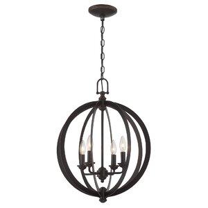 Jennette 4-Light Globe Pendant