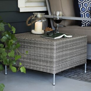 Addison Wicker/Rattan Side Table by CO9 Design