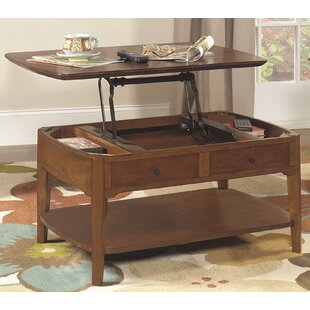 Waynesville Lift Top Coffee Table Red Barrel Studio