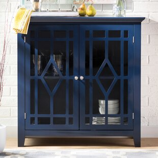 Blue Mesa Display Cabinet by Three Posts