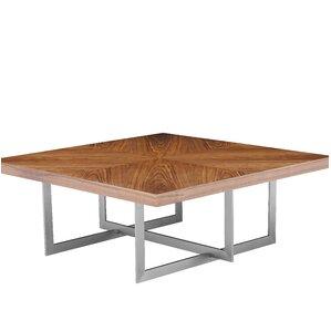 Onshuntay Square Coffee Table by Orren Ellis