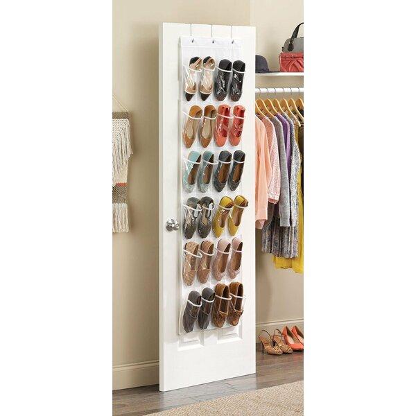 Rebrilliant 12 Pair Overdoor Shoe Organizer | Wayfair