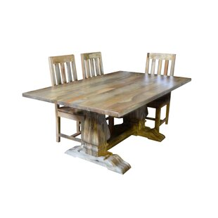 Harley 4 Piece Dining Set Millwood Pines