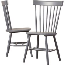 seraphina solid wood dining chair set of 2
