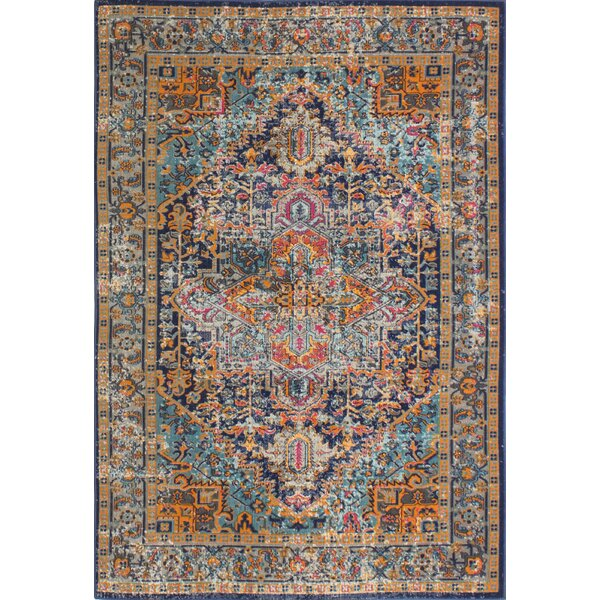 High Quality Mistana Blackwell Dark Blue Area Rug U0026 Reviews | Wayfair