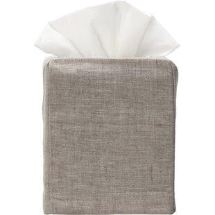 Linen Tissue Box Cover ByJacaranda Living