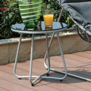 Adria Aluminum Side Table