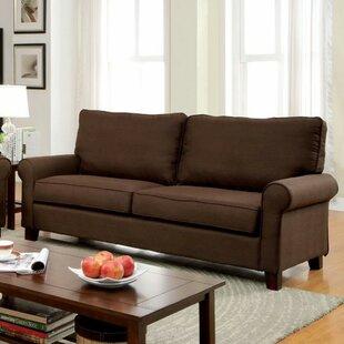 Attirant Hani Flax Fabric Sofa