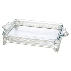 Plated Giftware 120 oz. Open Baker