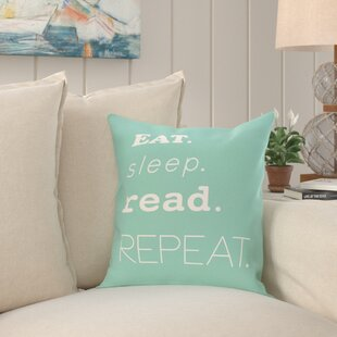 Cedarville Mantra Word Outdoor Throw Pillow