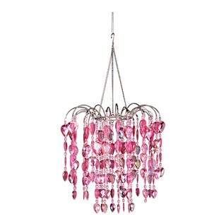 Chatteris 1-Light Crystal Pendant By House of Hampton