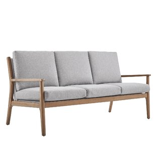 Alaina Modern Straight Arm Sofa