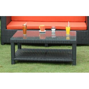 Coto de Casa Rattan Coffee Table