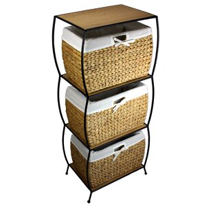 Affordable Price Seagrass Basket Storage Pangaea 3 Drawer Storage Chest By Pangaea Home and Garden