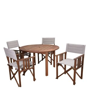 maroc patio 5 piece dining set