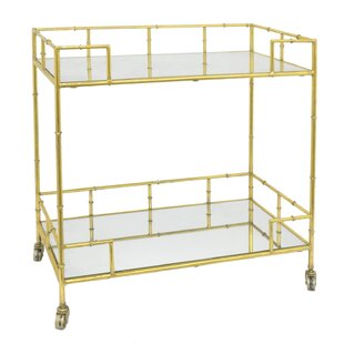 Janke Metal/Mirrored Bar Cart Comparison