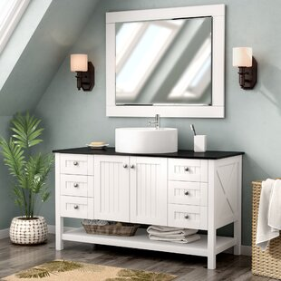 "Nadel 48"" Single Bathroom Vanity Set with Mirror"
