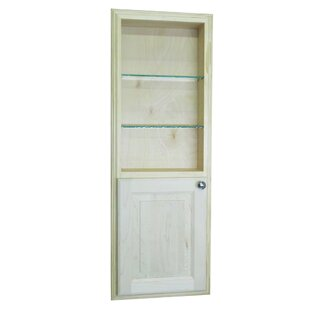 """Baldwin 15.5"""" W x 43.5"""" H Recessed Cabinet by"""