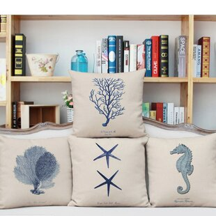 Constantine Ocean 4 Piece Pillow Cover Set