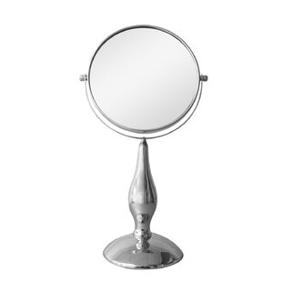 Reviews Freestanding Magnifying Makeup Mirror By Elegant Home Fashions