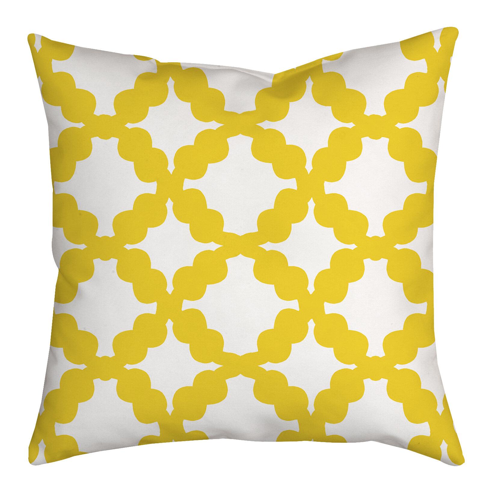 Safiyajamila Simply Geometric Indoor Outdoor Throw Pillow Wayfair