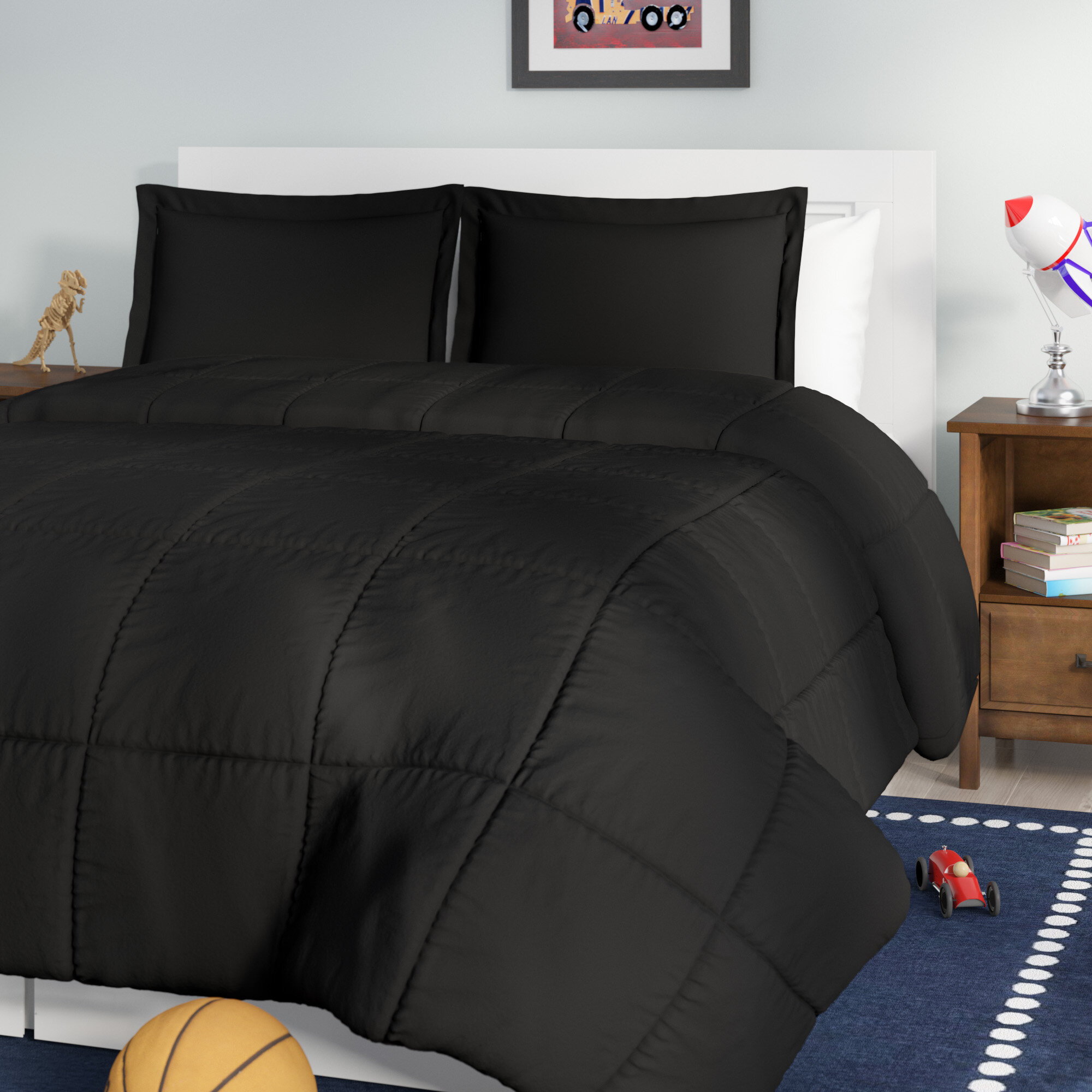 walmart bed color home com solid ip quilt somerset comforter