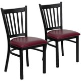 Chafin Upholstered Vertical Side Chair (Set of 2) by Winston Porter