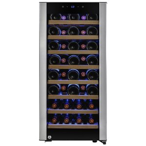 38 Bottles Single Zone Built-In Wine Cooler by A..