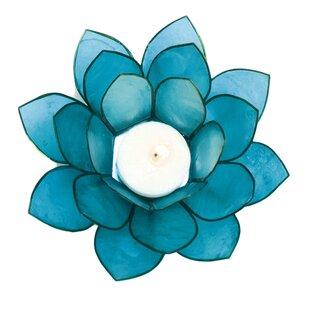 Capiz Lotus Votive (Set of 2)