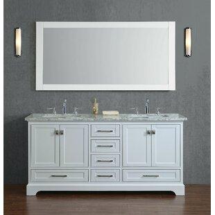 vanity double sink 72. Save to Idea Board  Willa Arlo Interiors Stian 72 Double Sink Bathroom Vanity Inch Vanities You ll Love Wayfair
