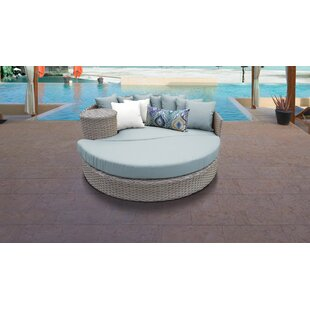 Monterey Circular Patio Daybed with Cushions
