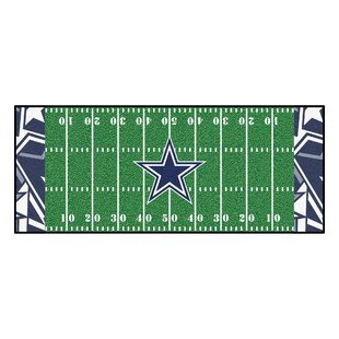 NFL Green Area Rug