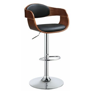 Burford Adjustable Height Swivel Bar Stool Corrigan Studio