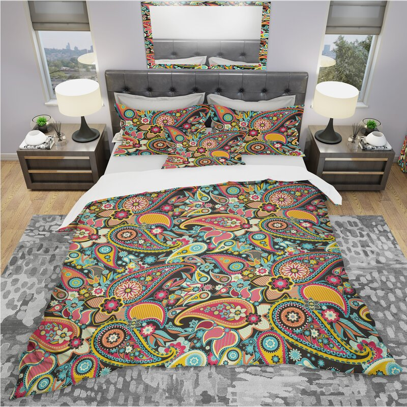 East Urban Home Bohemian And Eclectic Duvet Cover Set Wayfair