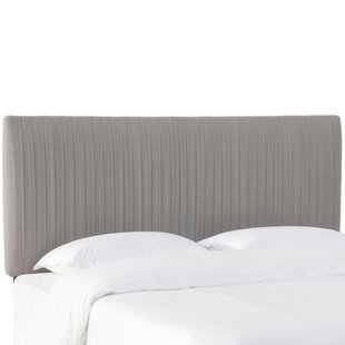 Sanford Pleated Upholstered Panel Headboard